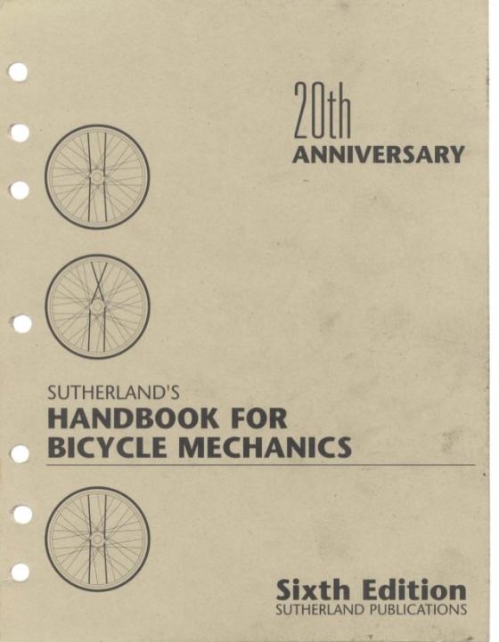 handbook-for-bicycle-mechanics-6ed-howard-sutherland-1995-1-638