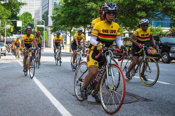 black-women-biking